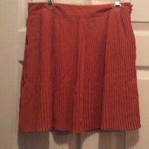Forever21 peach skirt